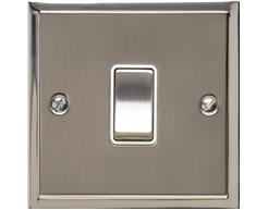 Stepped Plate Satin Nickel Dual Finish S05